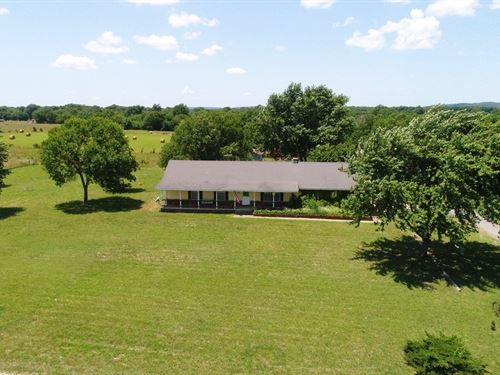 Farm Near Adair, OK : Adair : Mayes County : Oklahoma