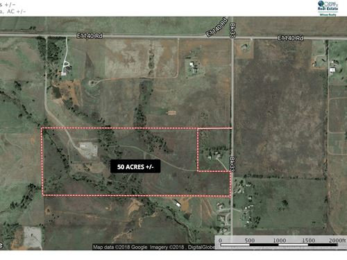 Great Hunting Land Located Close to : Elk City : Beckham County : Oklahoma
