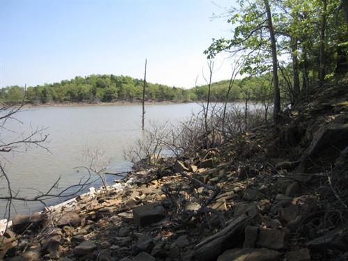 13 Waterfront Acres Lake Eufaula : Eufaula : Pittsburg County : Oklahoma