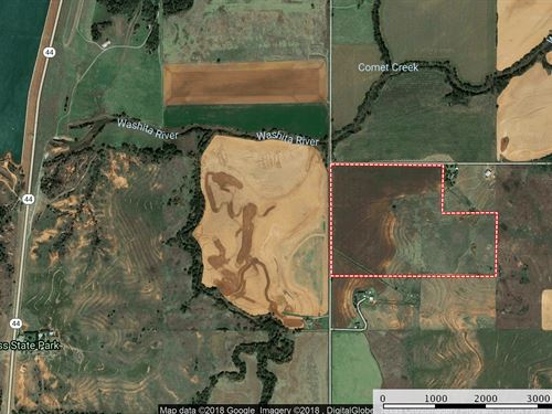 Oklahoma Grassland Custer County : Foss : Custer County : Oklahoma