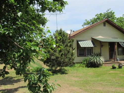 Country Home 20 Acres Hugo : Hugo : Choctaw County : Oklahoma