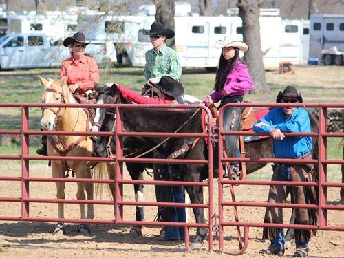 Okla, Ranch, 565 Acres Cattle : Monroe : Le Flore County : Oklahoma