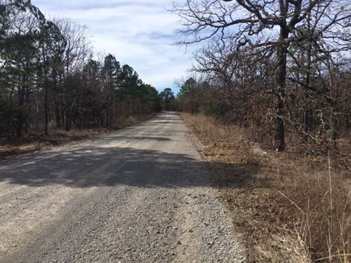 Hunting Land Latimer County : Wilburton : Latimer County : Oklahoma