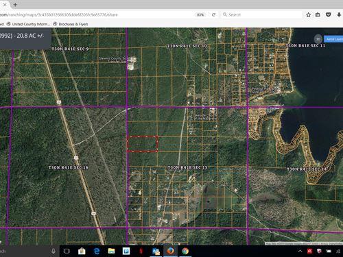 Acreage Wa, Residential, Hunting : Loon Lake : Stevens County : Washington