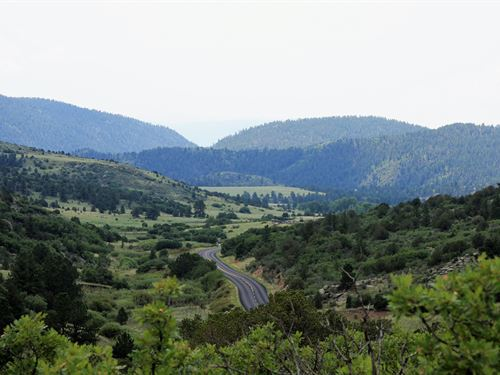 Beautiful Acreage Just North West : Canon City : Fremont County : Colorado
