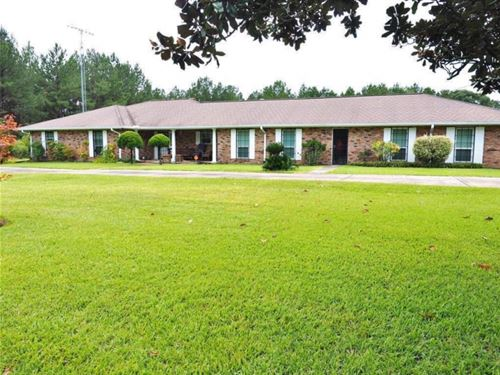 3 Bed, 3 Bath Home 100 Acres Land : Summit : Amite County : Mississippi