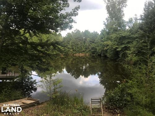 Recreational Tract With Stocked Lak : Falkner : Benton County : Mississippi