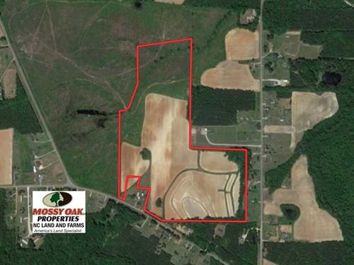 Reduced, 58 Acres of Farm And Ti : Middlesex : Nash County : North Carolina