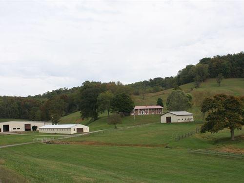 Cr ME DE LA Cr ME Farm West : Clarksburg : Harrison County : West Virginia