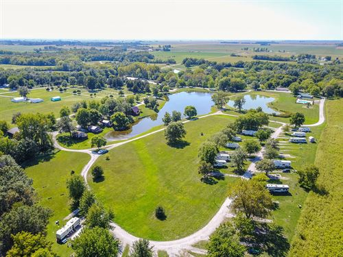 Illinois Campground And RV Park : Litchfield : Montgomery County : Illinois