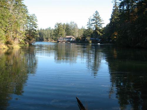 Harstine Island Prime Waterfront : Shelton : Mason County : Washington