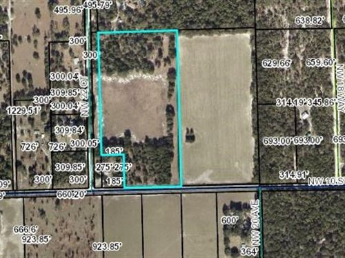 20.83 Acres Of Vacant Land : Bell : Gilchrist County : Florida