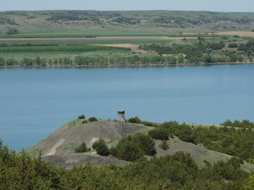 Missouri River Bluffs 50 Acres : Chamberlain : Brule County : South Dakota