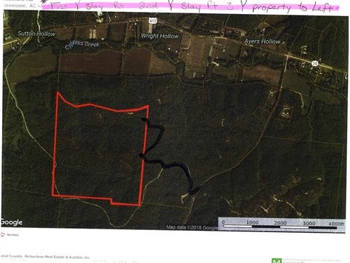 Reduced, 175 Ac Hunting Land Perry : Linden : Perry County : Tennessee