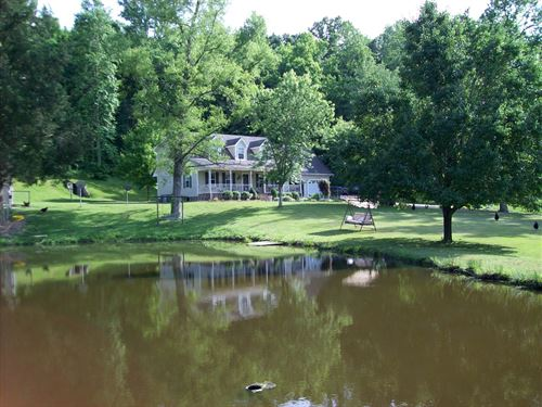 58.3 Acre Tennessee Cattle Horse : Waynesboro : Wayne County : Tennessee