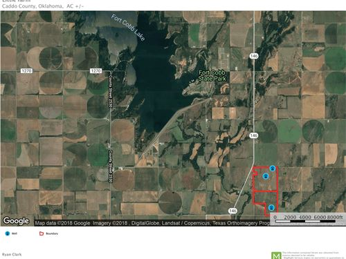 Farm Hunting Land, Caddo County : Fort Cobb : Caddo County : Oklahoma