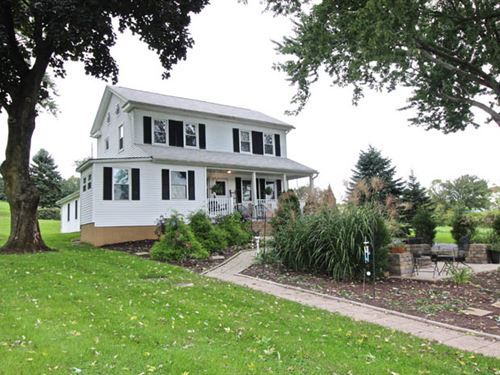 12+ Acres, One Of A Kind Property : Bloomsburg : Columbia County : Pennsylvania