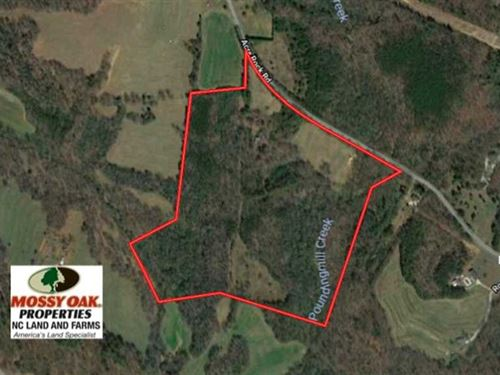 Under Contract, 50.8 Acres of Tim : Lawndale : Cleveland County : North Carolina