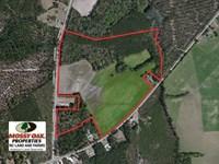 59 Acres of Farm And Timber Land : Harrells : Sampson County : North Carolina