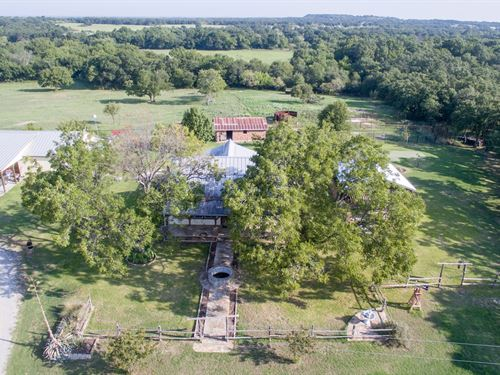 90 Acres Slight Rolling Terrain : Weatherford : Parker County : Texas