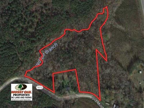 Under Contract, 10.08 Acres of Hu : Warrenton : Warren County : North Carolina