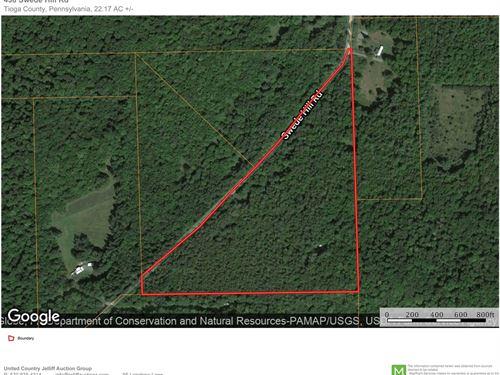 Tioga County, PA Wooded Hunting : Wellsboro : Tioga County : Pennsylvania