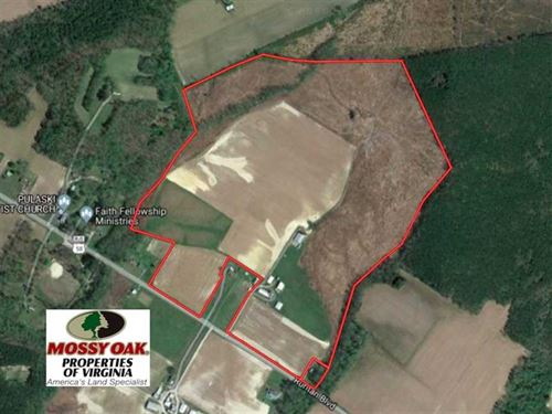 Under Contract, 118 Acres of Farm : Holland : Suffolk County : Virginia