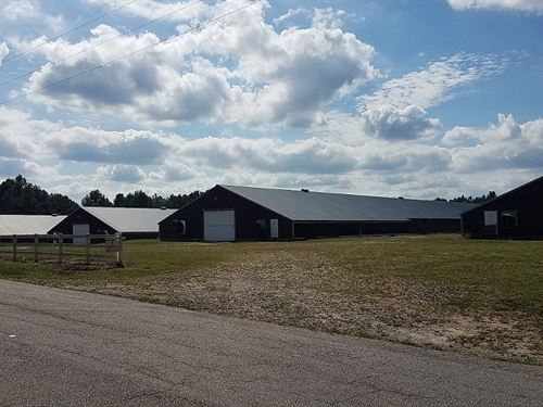 Robinson Farm, 4 House Broiler Farm : Bowdon : Carroll County : Georgia