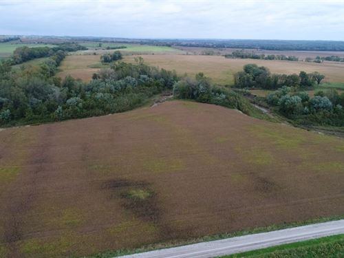 178 Ac, Quality Row Crop Plus : Blythedale : Harrison County : Missouri