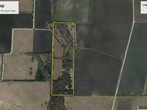 Recreational Property : Roxton : Lamar County : Texas
