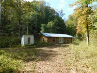Tn Hunting Land, Cabin, Shop : Decaturville : Decatur County : Tennessee