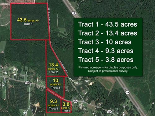 80 Acres In Lauderdale County, Ms : Collinsville : Lauderdale County : Mississippi