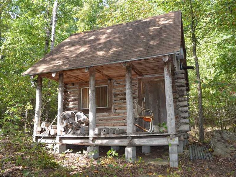 Hunting Cabin In The Woods With 40 Ranch For Sale