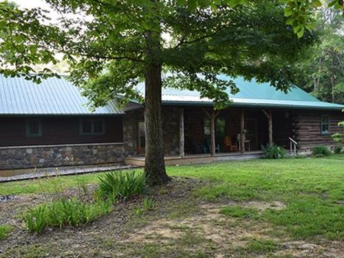 53 Ac, Diverse Property Boast : Mauckport : Harrison County : Indiana