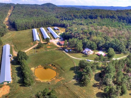 Hawkin's Poultry Farm : Aragon : Polk County : Georgia