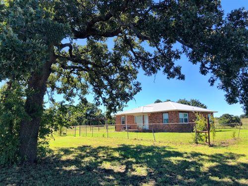 Farmhouse 101 Acres / 7 Ponds : Wilson : Carter County : Oklahoma
