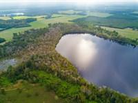Frontage On Wellborn Lake : Wellborn : Suwannee County : Florida