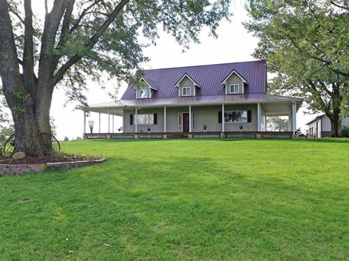 4 Br/2.5 Ba, 10 Acres M/L, Land fo : Unionville : Appanoose County : Iowa
