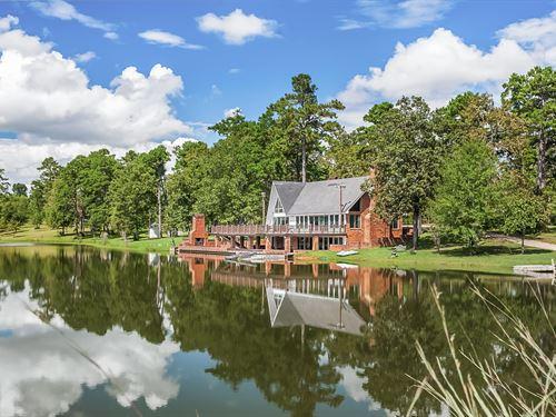 658 Ac Corporate Retreat, 4 Lodges : Franklinton : Washington Parish : Louisiana