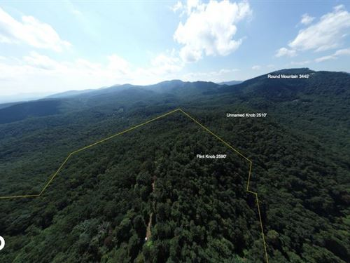 360 Mountain Views From Private Wil : Black Mountain : Buncombe County : North Carolina