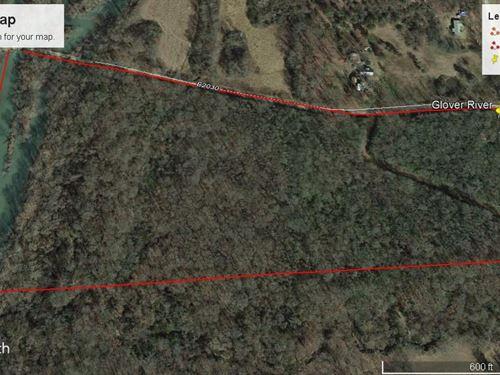 River Front Acreage Glover River Se : Broken Bow : McCurtain County : Oklahoma
