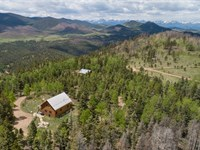 Co Ranch Adjoining Forest : Wetmore : Custer County : Colorado