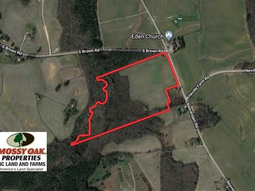 Under Contract, 24.5 Acres of Far : Enfield : Halifax County : North Carolina