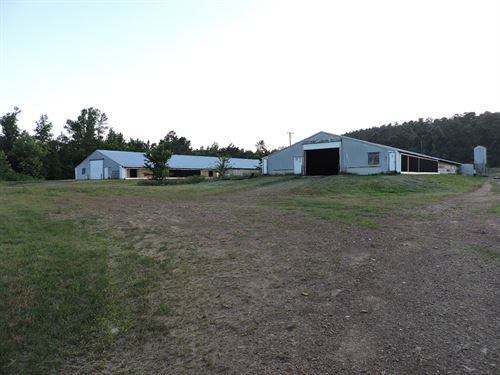 Poultry Farm For Sale in Arkansas : Mena : Scott County : Arkansas