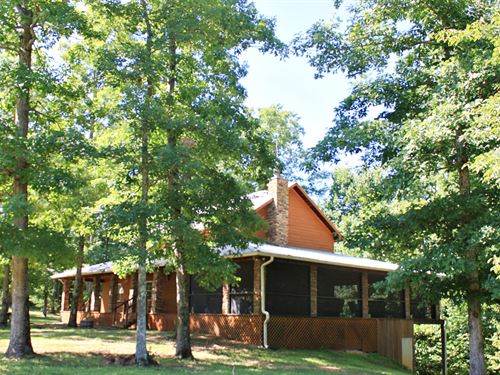3 Bedroom 3 Bath Geothermal Home : Linden : Perry County : Tennessee