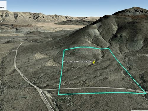 Terlingua Ranch Tract 6831 : Terlingua : Brewster County : Texas