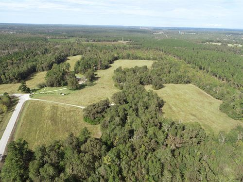 Price Reduced 112 Acres With Home : Blythe : Burke County : Georgia