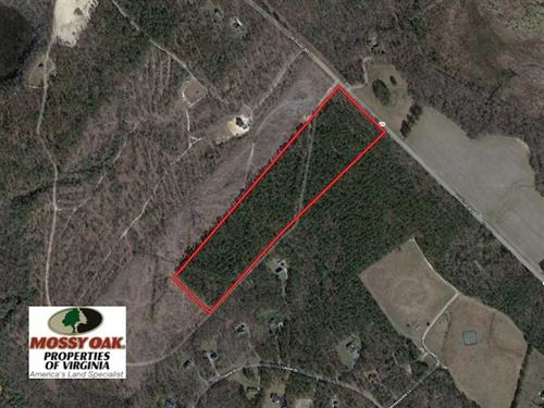 Reduced, 25 Acres of Residential : Aylett : King William County : Virginia