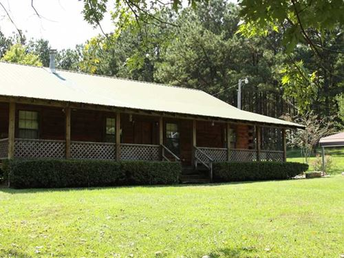 Lake Erling Log Cabin Property Tra : Taylor : Lafayette County : Arkansas
