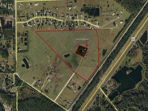 Cow Bird Ln- 37.68 Acres : Callahan : Nassau County : Florida
